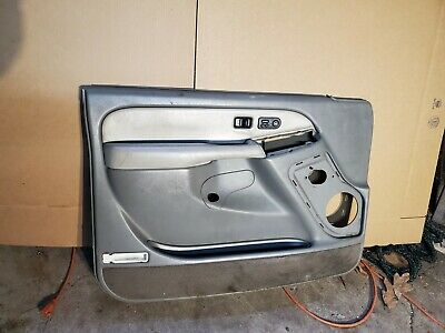 $159 • Buy 99-06 Silverado Driver LH Door Panel J37 Pewter/shale