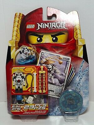 £9.33 • Buy Lego Ninjago Wyplash Spinner Set 2175 Minifigure Weapons Cards Discontinued  B