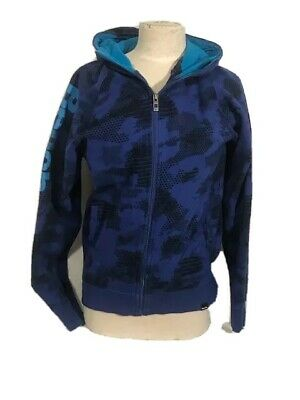 £20.22 • Buy BENCH Woman Hoodie Black And Blue Size M WorkOut CrossFit Casual