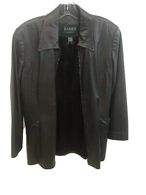 $ CDN50 • Buy DANIER Leather Jacket Ladies Size Small