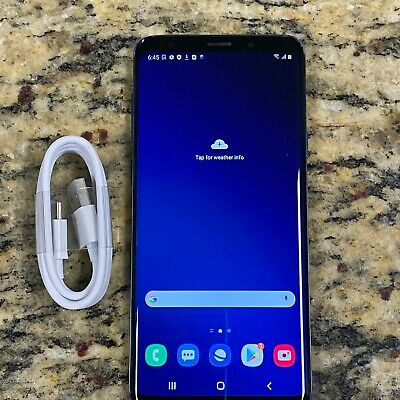 $ CDN292.43 • Buy Samsung Galaxy S9+ Plus G965U 64GB Blue T-Mobile Clean Esn IMEI #H181