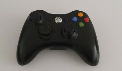 AU39.99 • Buy Genuine Xbox 360 Black Wireless Controller