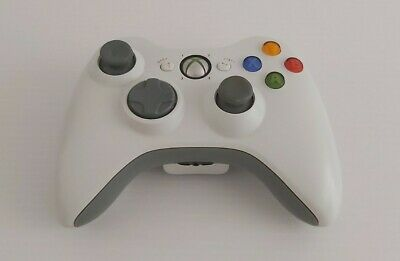AU34.99 • Buy Genuine Xbox 360 White Wireless Controller