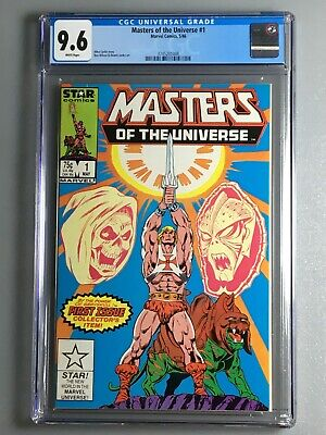 $149 • Buy Masters Of The Universe 1 - CGC 9.6 - He-Man