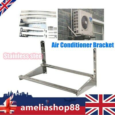 Air Conditioner Bracket Stainless Steel Wall Mount Universal Support Bracket UK • 59£