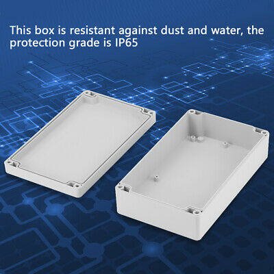 £7.43 • Buy IP65 Waterproof Electronic Project Box Enclosure ABS Plastic Case Junction Box