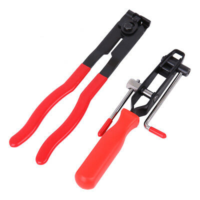 AU24.61 • Buy Boot Clamp Pliers CV Clamp Tool CV Joint Banding Crimper Cutting Tool Kit 2PCS
