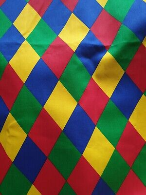 Harlequin Fabric Remnant Width 57 Inches Length 21 Inches • 5£