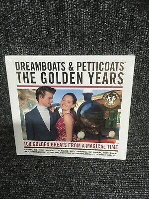 4 Disc Cd Album - Dreamboats & Petticoats - The Golden Years - New And Sealed • 4.99£
