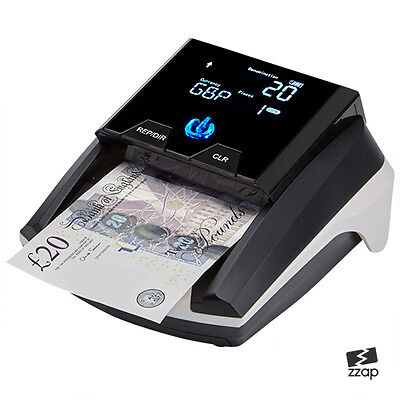 £94.99 • Buy Money Detector Checker Counterfeit Fake Bank Note Banknote Forgery Counter