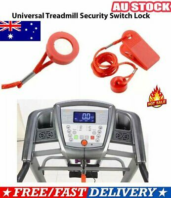 AU8.92 • Buy Treadmill Safety Key Lock Running Machine Switch Security Magnetic Fitness NW