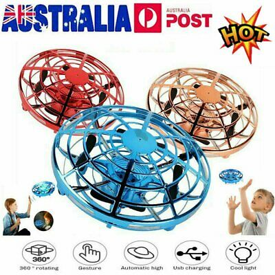 AU17.93 • Buy 360° Mini Drone Smart UFO Aircraft For Kids Flying Toy RC Hand Control Gift NW