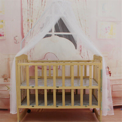 £7.08 • Buy Baby Bed Mosquito Net Mesh Dome Curtain Net For Toddler Crib Cot Canopy F WF