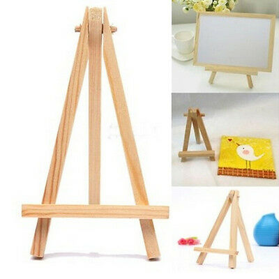 Mini Wooden Cafe Table Number Easel Wedding Place Name Card Holder Sta WF • 4.13£