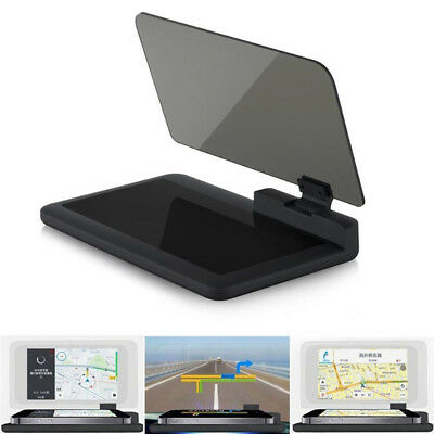 H6 Car Auto GPS HUD Head Up Display Smart Phone Mount Holder Stand Projec X WF • 14.20£