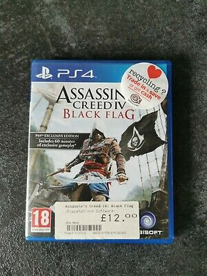 Assassins Creed Black Flag Ps4 • 3.20£