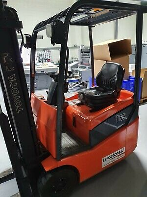 Toyota 7FBEST15 2006 1.5t Electric 3 Wheel Forklift • 5,800£