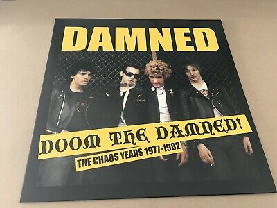 The Damned – Doom The Damned - The Chaos Years 1977-1982  Red Vinyl Lp • 20.50£