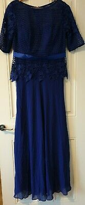 Ladies EVER♡PRETTY MAXI EVENING PARTY GOWN SIZE 12 • 14.70£
