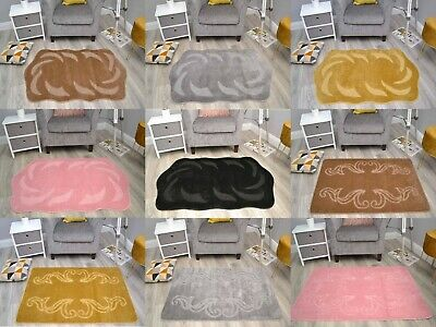 £16.99 • Buy Cheap Washable Bedroom Rugs Thick Soft Pile Bathroom Floor Mats Small Large Size