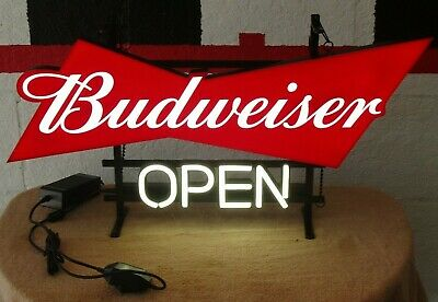 $ CDN209.82 • Buy Budweiser Led Open Sign New