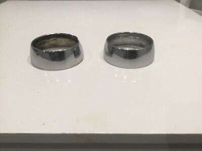 Volvo P1800s Used Pair Of Front Side Light  Bezels.  • 16£