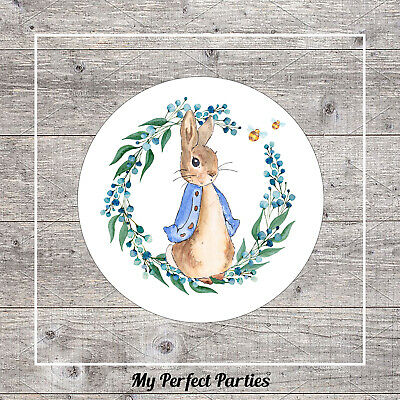 £1.20 • Buy 35 Peter Rabbit Birthday Party, Baby Shower, Christening, Thank You Stickers