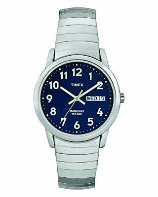 Timex Men's Easy Reader Day Date 35 Mm Watch T20031 • 49.99£