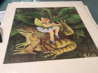 Beryl Cook Manicure Open Mounted Print • 5£