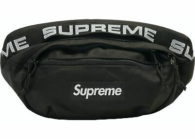 $ CDN153.11 • Buy Supreme Waist Bag (SS18) Black