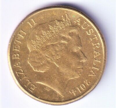 """AU3.90 • Buy 2014 Australian 1 Dollar Coin """"Mob Of Roos"""" - VERY LOW MINTAGE #1"""