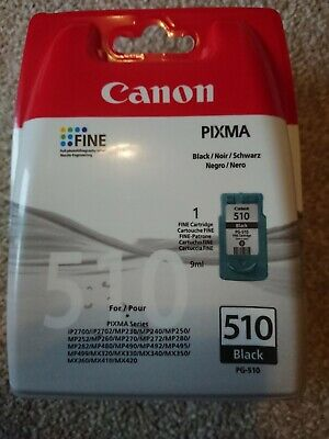Original Cannon PG-510 Black Cartridge • 10£