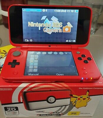 AU220 • Buy Nintendo New 2DS XL Pokemon Poke Ball Limited Console Plus Games And Accessories