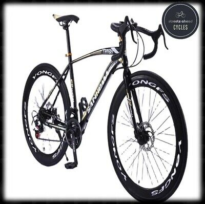 """£284.98 • Buy New 2021 SANHEMA 26"""" 21 Speed Mens Womens Road Race Bike. Fast Delivery 🚚"""