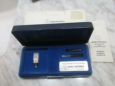 Audio Technica At460lc/u Cartridge And Audio Technica Stylus In Case & Cover • 106.43£