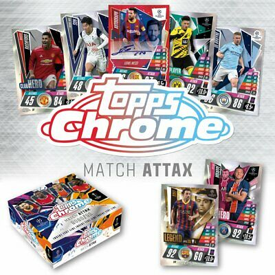 AU4.83 • Buy Topps Match Attax Chrome 2020/21 - Choose Individual Base Cards (Numbers 1-200)