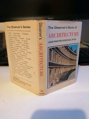 Observer's Book Of Architecture 1974 • 2.99£