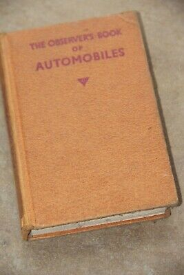 The Observer's Book Of Automobiles 1959 • 2£