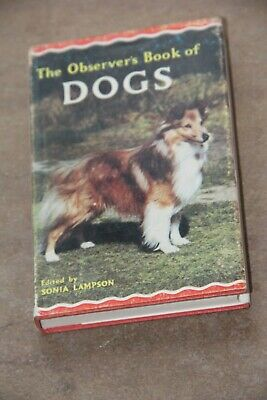 The Observer's Book Of Dogs 1967 • 2£