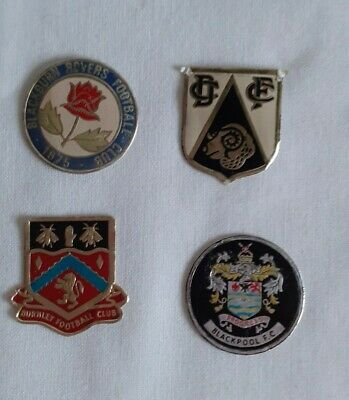1970's The ESSO Collection Of Football Club Badges -  4 Spare Badges • 2£