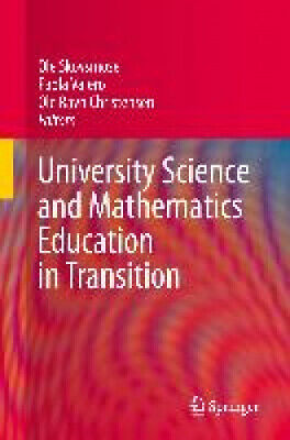 £111 • Buy University Science And Mathematics Education In Transition By Ole Skovsmose