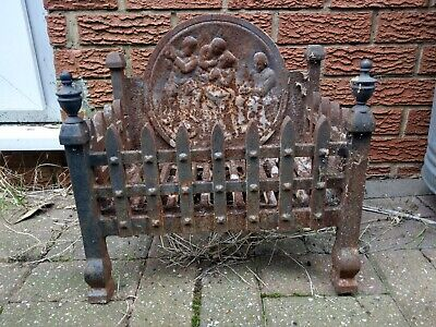 £99.99 • Buy Victorian Style Cast Iron Fire Basket - Possible Delivery