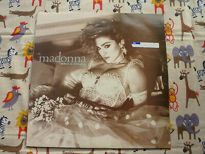 Madonna Like A Virgin Original 1984 Sire Records Uk Vinyl Lp • 8£