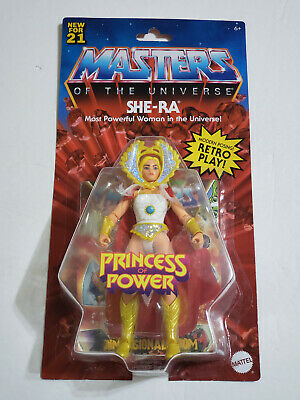 $34.97 • Buy NEW 2021 Masters Of The Universe Origins SHE-RA Wave 3 4 MOTU Retro Play IN HAND