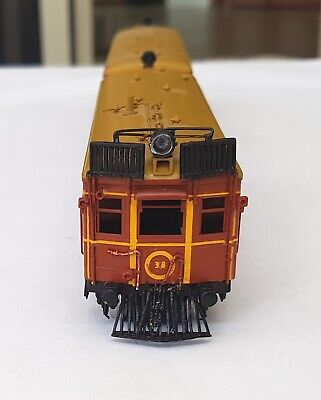 AU430 • Buy CPH Rail Car And Trailer. Bergs Brass Models DC In HO Scale