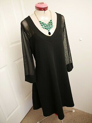AU48 • Buy PINK CLOVE ASOS Black DRESS Size UK 22 BNWT NEW Evening Cocktail Party A-Line