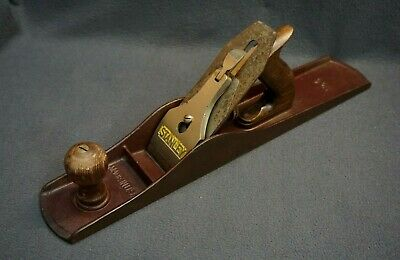 +++ Vintage STANLEY No. 6 18  Wood Fore Plane - MADE IN USA! +++ • 58.65£