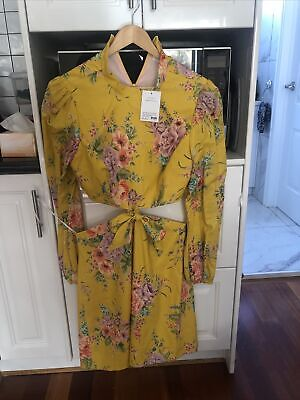 AU280 • Buy Zimmerman Zinnia Yellow Dress Size 3
