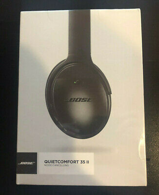 $ CDN290.39 • Buy Bose QuietComfort 35 II Wireless Bluetooth Headphones NoiseCancelling QC35 Black