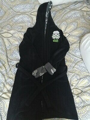 Primark Boys Star Wars Dressing Gown - Size 11-12 Years • 0.99£